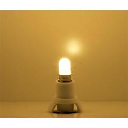 Zocalo luz bombilla Led blanco calido, para interior de casas. Faller. Ref: 180660.