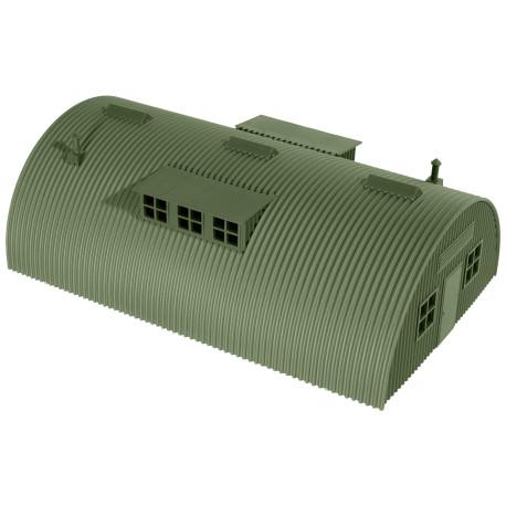 Tienda de campaña militar compuesta, Escala 1/87, Minitank-Roco, Ref: 00615.