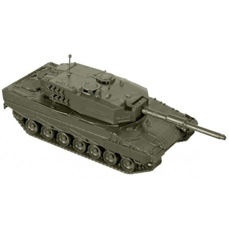 Tanque Leopard 2 A4, EU, Kit M., Escala 1/87, Minitank-Roco, Ref: 05039.