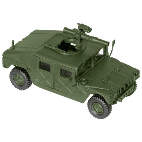 Hummer M1025, con Lanzamisiles, USA, Kit M., Escala 1/87, Minitank-Roco, Ref: 05043.