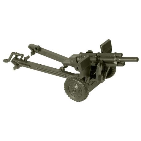 Cañon lijero M101, USA, Kit M., Escala 1/87, Minitank-Roco, Ref: 05072.