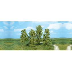 Surtido de 12 arbustos creativos, color verde medio, Marca Heki, Ref: 1641.