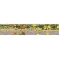 Lote de 100 matojos de hierba rojos y amarillos, Marca Heki, Ref: 1804.