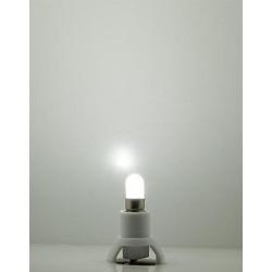 Zocalo luz bombilla Led Blanco Frio, para interior de casas. Faller. Ref: 180661.
