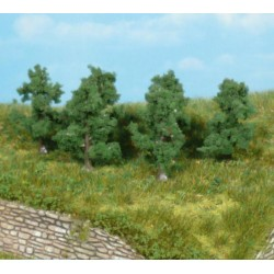 Surtido de 6 Manzanos, 4 cm, Marca Heki, Ref: 1162.