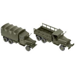 Camión GMC CCKW 353, USA, Kit Montaje, Escala 1/87, Minitank-Roco, Ref: 05044.
