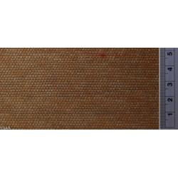 Cubierta de pizarra plana, Ref: 160PP121, acabado natural, Marca Redutex