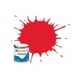 Rojo Brillante ( 19 ). Bote 14 ml. Marca Humbrol. Ref: AA0206.