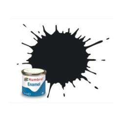 Negro Brillante ( 21 ). Bote 14 ml. Marca Humbrol. Ref: AA0237.