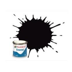 Negro Metalico (  201 ). Bote 14 ml. Marca Humbrol. Ref: AA6392.
