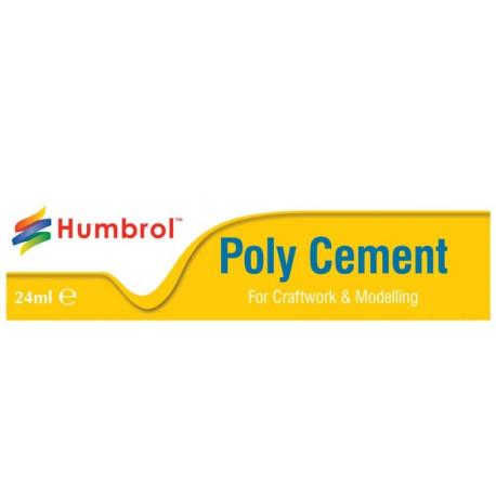 Pegamento Poly Cement. Tubo de 24 ml. Marca Humbrol. Ref: AE4422.
