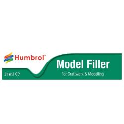 Masilla de relleno, Model Filler. Tubo 31ml. Marca Humbrol. Ref: AE3016.