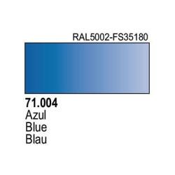 Acrilico Model Air Azul. Bote 17 ml. Marca Vallejo. Ref: 71.004.