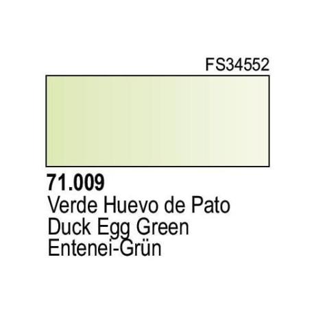 Acrilico Model Air Verde Huevo Pato. Bote 17 ml. Marca Vallejo. Ref: 71.009.