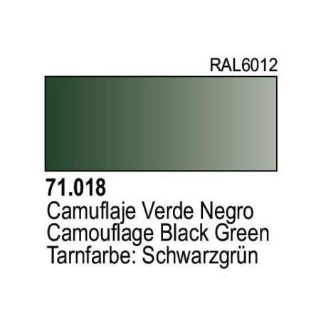 Acrilico Model Air Camuflaje Verde Oscuro. Bote 17 ml. Marca Vallejo. Ref: 71.018.
