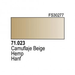 Acrilico Model Air Camuflaje Beige. Bote 17 ml. Marca Vallejo. Ref: 71.023.