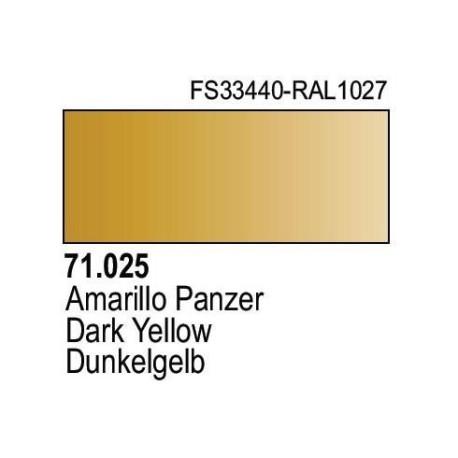 Acrilico Model Air Dunkelgelb RAL7028. Bote 17 ml. Marca Vallejo. Ref: 71.025.