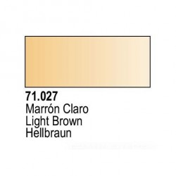 Acrilico Model Air Marron Claro. Bote 17 ml. Marca Vallejo. Ref: 71.027.