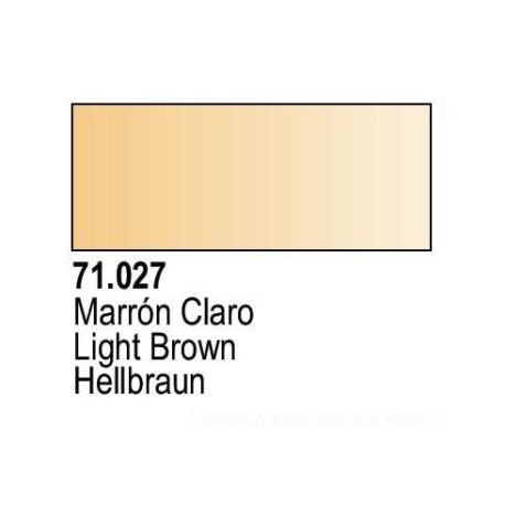 Acrilico Model Air Marron Claro. Bote 17 ml. Marca Vallejo. Ref: 71.027.