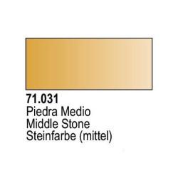 Acrilico Model Air Piedra Medio. Bote 17 ml. Marca Vallejo. Ref: 71.031.