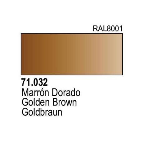 Acrilico Model Air Marron Dorado. Bote 17 ml. Marca Vallejo. Ref: 71.032.