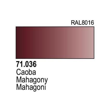 Acrilico Model Air Caoba. Bote 17 ml. Marca Vallejo. Ref: 71.036.