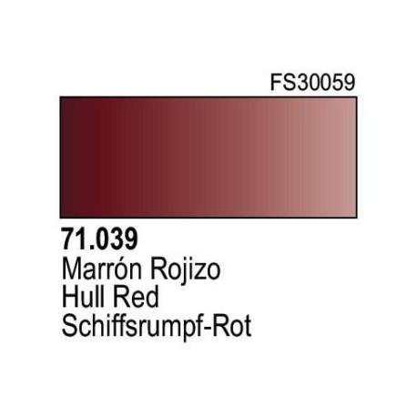 Acrilico Model Air Marron Rojizo. Bote 17 ml. Marca Vallejo. Ref: 71.039.