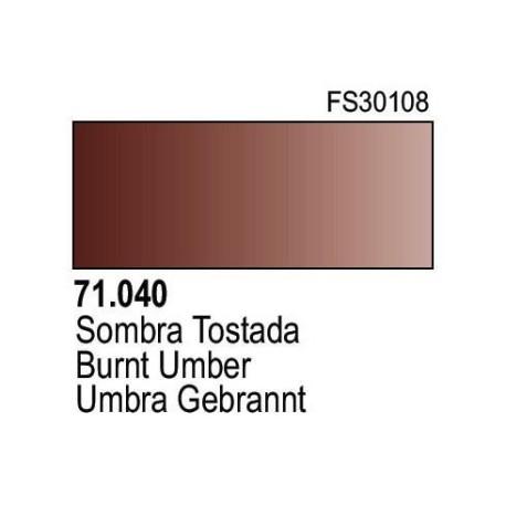Acrilico Model Air Sombra Tostada. Bote 17 ml. Marca Vallejo. Ref: 71.040.