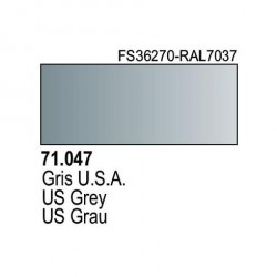 Acrilico Model Air Gris USA. Bote 17 ml. Marca Vallejo. Ref: 71.047.
