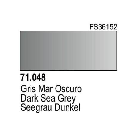 Acrilico Model Air Gris Mar Oscuro. Bote 17 ml. Marca Vallejo. Ref: 71.048.