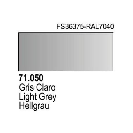 Acrilico Model Air Gris Claro. Bote 17 ml. Marca Vallejo. Ref: 71.050.