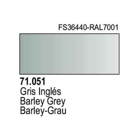 Acrilico Model Air Gris Ingles. Bote 17 ml. Marca Vallejo. Ref: 71.051.