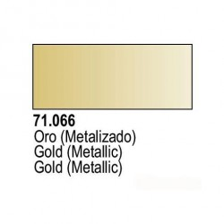 Acrilico Model Air Oro Metalizado. Bote 17 ml. Marca Vallejo. Ref: 71.066.