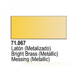 Acrilico Model Air Laton Metalizado. Bote 17 ml. Marca Vallejo. Ref: 71.067.