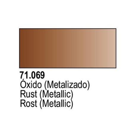 Acrilico Model Air Oxido Metalizado. Bote 17 ml. Marca Vallejo. Ref: 71.069.