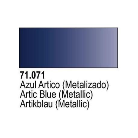 Acrilico Model Air azul Artico Metalizado. Bote 17 ml. Marca Vallejo. Ref: 71.071.