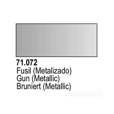 Acrilico Model Air Fusil Metalizado. Bote 17 ml. Marca Vallejo. Ref: 71.072.