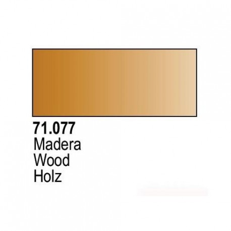 Acrilico Model Air Madera. Bote 17 ml. Marca Vallejo. Ref: 71.077.