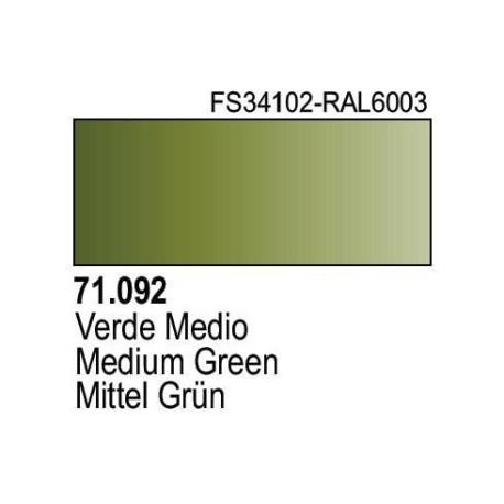 Acrilico Model Air Olivgrün RAL6003. Bote 17 ml. Marca Vallejo. Ref: 71.092.