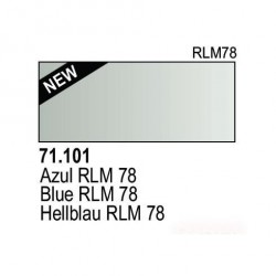 Acrilico Model Air Hellblau RLM78. Bote 17 ml. Marca Vallejo. Ref: 71.101.