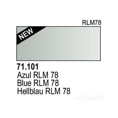 Acrilico Model Air Hellblau RLM78. Bote 17 ml. Marca Vallejo. Ref: 71.101.