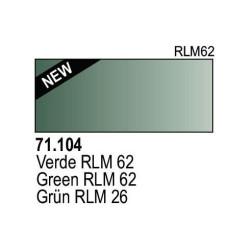 Acrilico Model Air Grün RLM62. Bote 17 ml. Marca Vallejo. Ref: 71.104.