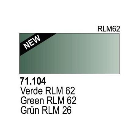 Acrilico Model Air Grün RLM62. Bote 17 ml. Marca Vallejo. Ref: 71.104
