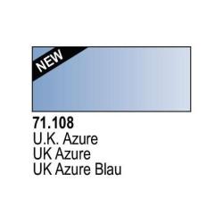 Acrilico Model Air UK Azul Azure. Bote 17 ml. Marca Vallejo. Ref: 71.108.