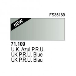 Acrilico Model Air UK azul P.R.U.. Bote 17 ml. Marca Vallejo. Ref: 71.109.