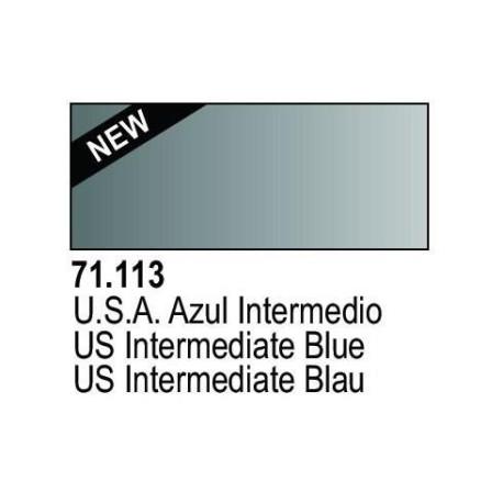 Acrilico Model Air Azul IDF . Bote 17 ml. Marca Vallejo. Ref: 71.113.