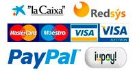 Logos formas de pago