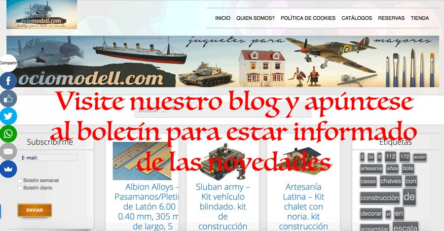 Viste nuestro Blog.ociomodell.com