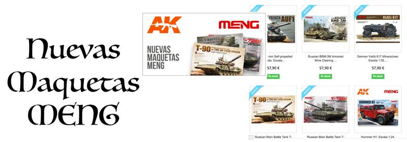 Nuevas maquetas Meng !!!