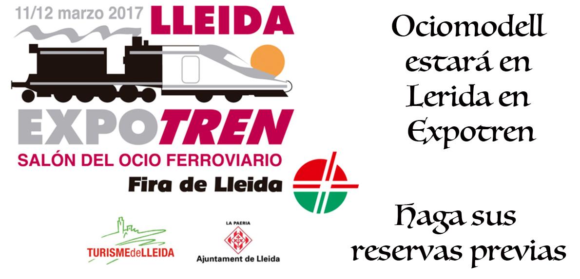 Ociomodell estará en Expotren 2017, Lerida